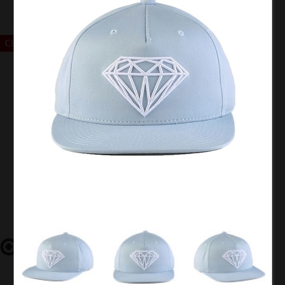 f93c26a04 Diamond Brilliant SnapBack hat NWT